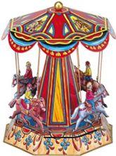 Clockwork Nostalgic Roundabout With Horses